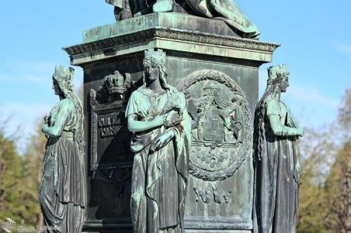 Großherzog-Karl-Friedrich-Denkmal, Detail